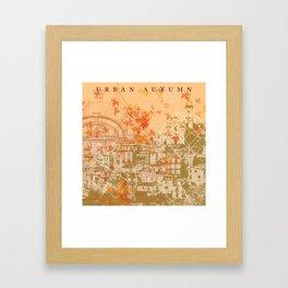 Urban Autumn Framed Art Print