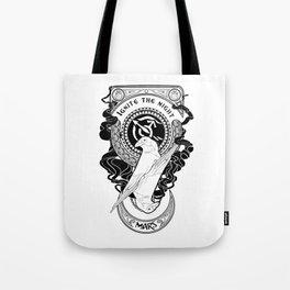 Sailor Mars art Nouveau Tote Bag