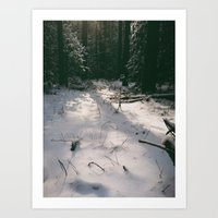 shining Art Prints featuring Shining by Thomas-Steele Carr