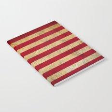 Vintage American Flag Notebook