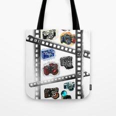Iconic Cameras! Tote Bag
