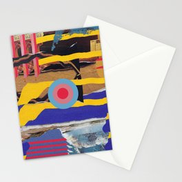 pulled muscle Stationery Cards