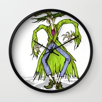 wizard Wall Clocks featuring Wizard by RifKhas