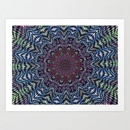 gutter stars Art Print