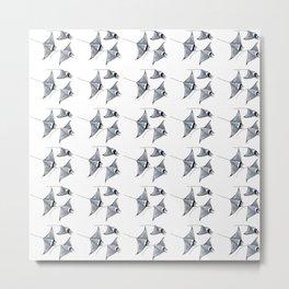 Manta ray devil fish Metal Print
