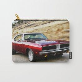 Vintage 1969 MOPAR 426 Hemi Charger Muscle Car Carry-All Pouch