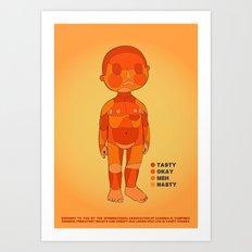 BBQ Time Art Print