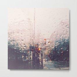 DC Rain Metal Print