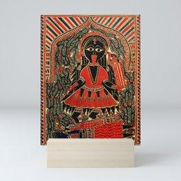 Hindu Kali 16 Mini Art Print