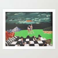Toxic Paradise  Art Print