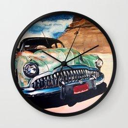 Beat up Holden Wall Clock