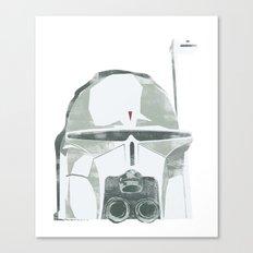 Ralph McQuarrie concept Boba Fett Canvas Print