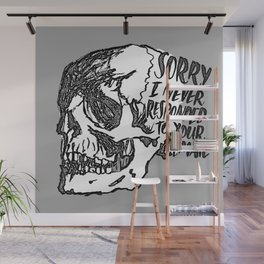 Never Responded Wall Mural