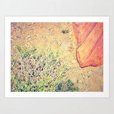 Desert Palace Art Print