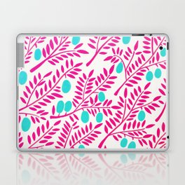 Olive Branches – Pink Ombré & Turquoise Laptop & iPad Skin