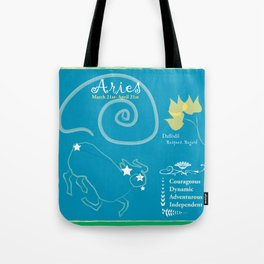 Aries March Tote Bag