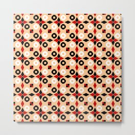 Antic pattern 5- greek labyrinth Metal Print