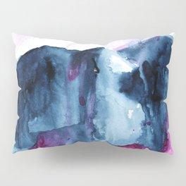 Abstract Indigo Mountains 2 Pillow Sham