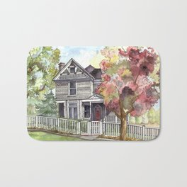Springtime in the Country Bath Mat