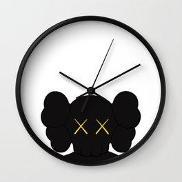 KAWS - Companion Black Wall Clock