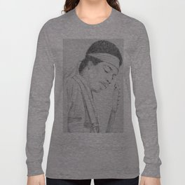Hendrix print Long Sleeve T-shirt