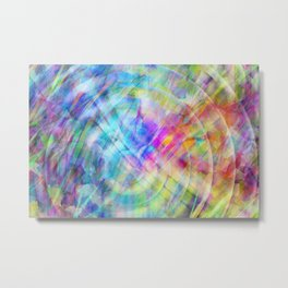 Multicolored abstract no. 57 Metal Print