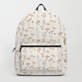 Champignons pattern Backpack