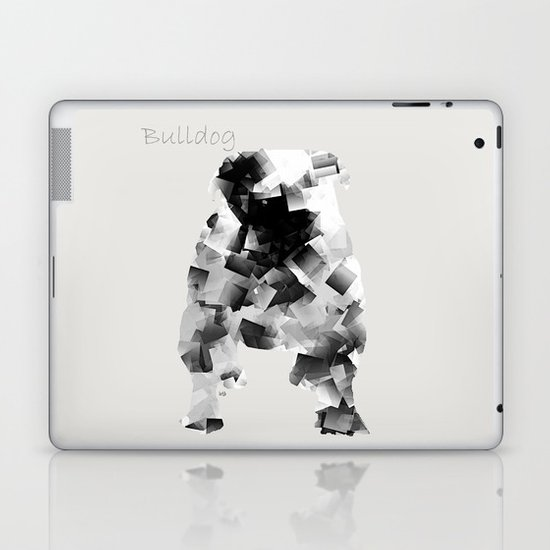 the bulldog  Laptop & iPad Skin