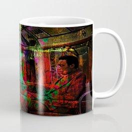 Sunday morning in the subway Coffee Mug