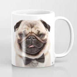 Helmut the Pug - Bow Tie Coffee Mug