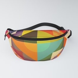 Abstract Multicolor Graphic Design Art - Cambion Fanny Pack