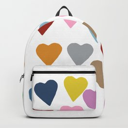 Hearts Colour Backpack