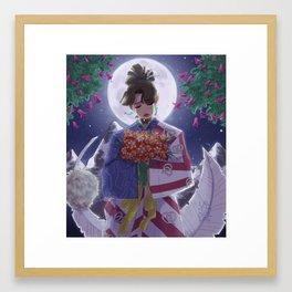 Inuyasha Print Framed Art Print