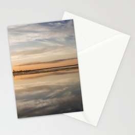 Baltic sea and sunset Stationery Cards