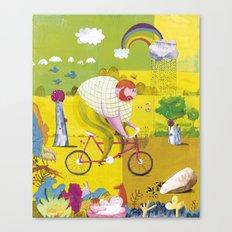 BYKE Canvas Print