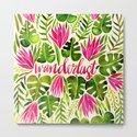 Tropical Wanderlust – Pink & Lime by catcoq
