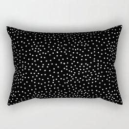 WHITE DOTS Rectangular Pillow