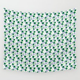 CONFETTI SCATTER BLUE GREEN PURPLE Wall Tapestry