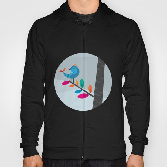 Blue Bird Hoody
