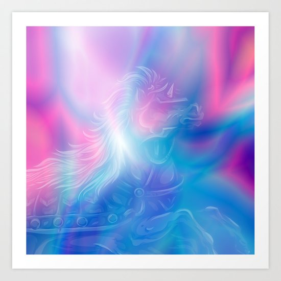 Borealis Spirit Art Print