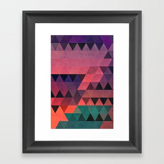tryy cyty Framed Art Print