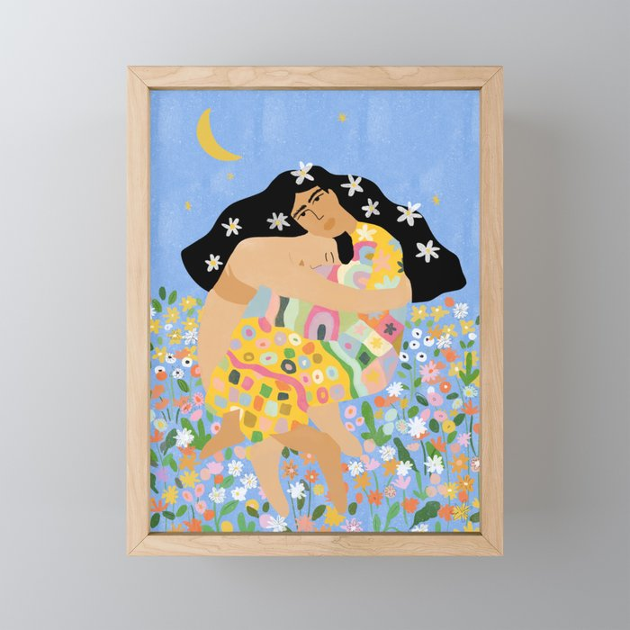 Yin Yang Framed Mini Art Print