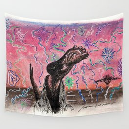 Yoga Trip Wall Tapestry