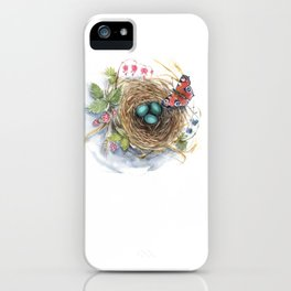 Robin's Nest iPhone Case