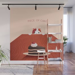 Piece of Cake Wall Mural