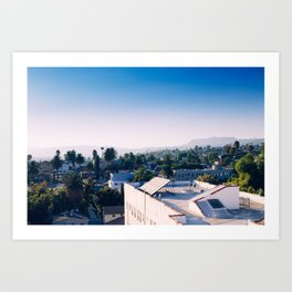 The Rooftops Art Print