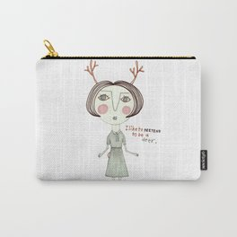 The Great Deer Pretender. Carry-All Pouch