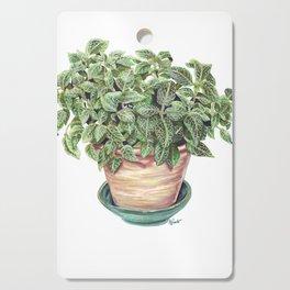 Potted Juanita Nerve Plant Marker Illustration Cutting Board