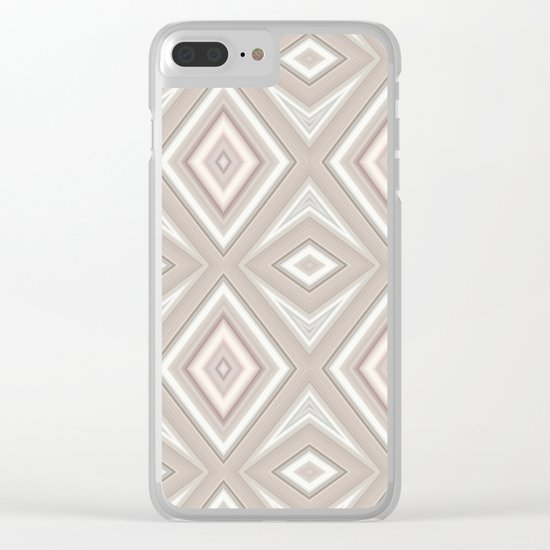 Diamonds are forever Clear iPhone Case