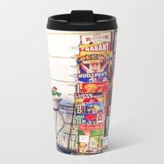 BUDAPEST Metal Travel Mug